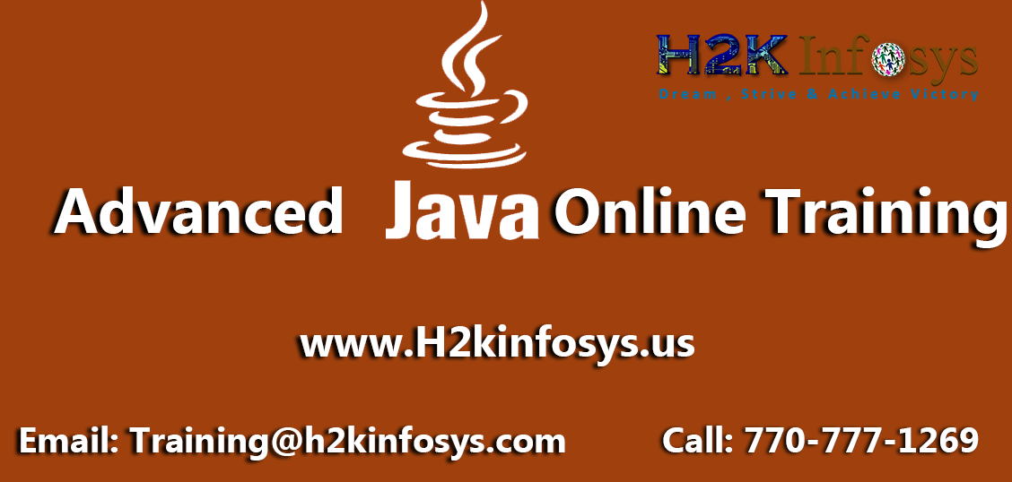 Advanced Java Online Training Course