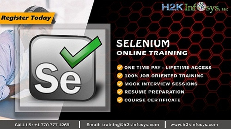 Selenium Automation Online Certification Training
