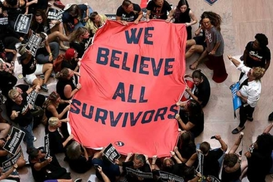 Capitol Police Arrests Over 300 during Anti-Kavanaugh Protests