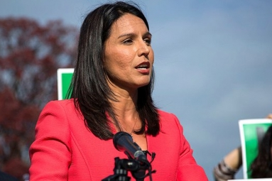 Being Targeted for Being a Hindu, Claims Tulsi Gabbard