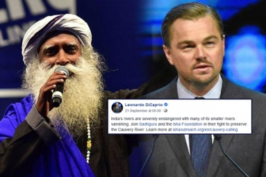 Civil Society Groups Ask DiCaprio to Withdraw Support for 'Cauvery Calling'