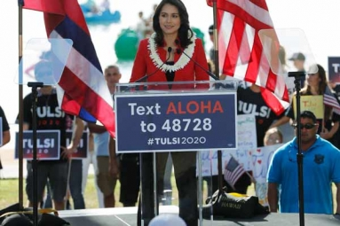 Tulsi Gabbard Officially Launches 2020 Presidential Campaign